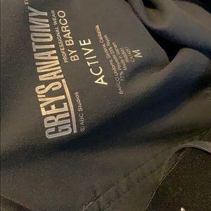 Grey's Anatomy Other - Greys Anatomy charcoal grey scrubs medium set.